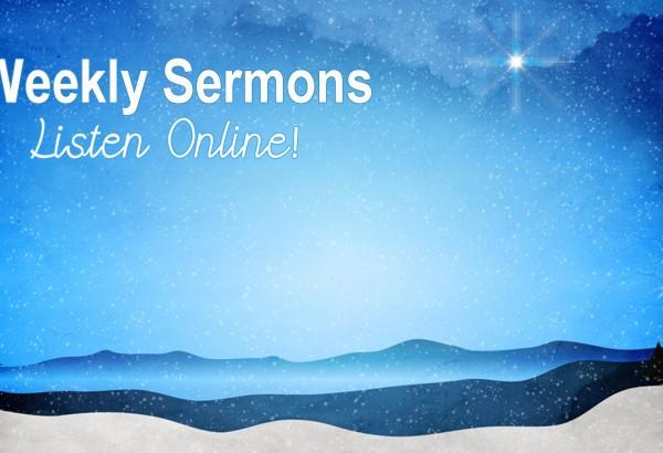 Weekly Sermons Banner Image